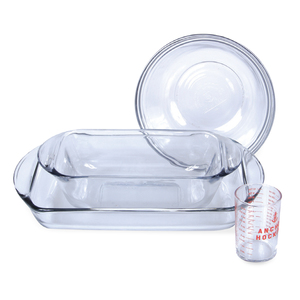 Anchor Hocking Essential Bake Set 4pcs 11630