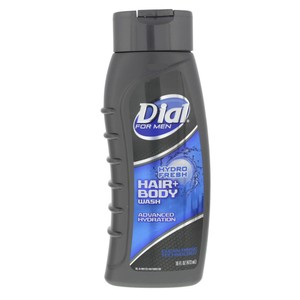 Dial Hair + Body Wash Hydro Fresh For Men 473ml