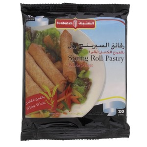 Sunbullah Spring Roll Pastry Whole Wheat 20pcs