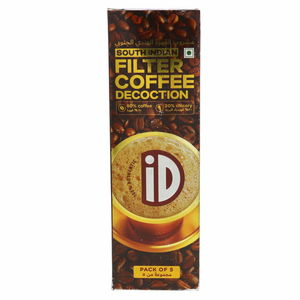 Id South Indian Filter Coffee Decoction 5 x 30ml