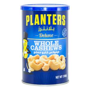 Planters Deluxe Whole Cashews 180g