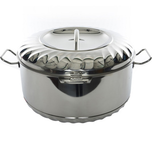 Chefline Stainless Steel Hot Pot Solitaire 2500ml