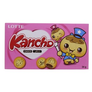 Lotte Kancho Chocolate 34g