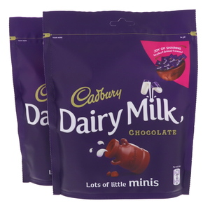 Cadburys Dairy Milk Minis Chocolate 2 x 192g