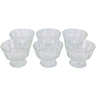 Home Glass Ice Cream Cup 6pcs