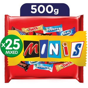 Galaxy Best Of Minis Chocolate Bag 500g