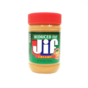 Jif Creamy Reduced Fat Peanut Butter 454g