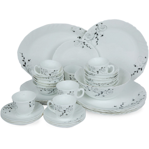 Cello Opal Dinner Set 38pcs Assorted Designs