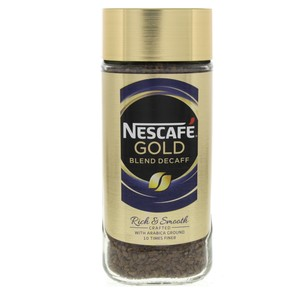 Nescafe Gold Blend Decaff Coffee100g