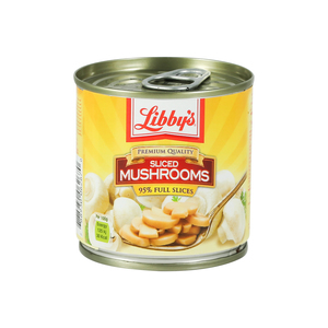 Libby's Full Sliced Mushrooms 184g