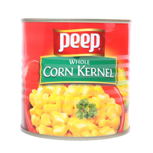 Peep Whole Corn Kernel 340g