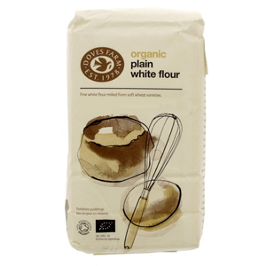 Dove Farm Organic Plain White Flour 1 Kg