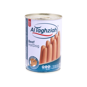Al Taghziah Beef Hot Dogs 380g