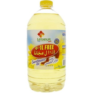 Lesieur Sunflower Oil 4Litre + 1Litre