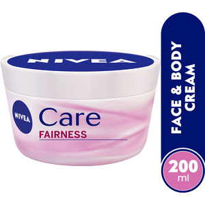 Nivea Care Fairness Face & Body Cream SPF 15 200ml