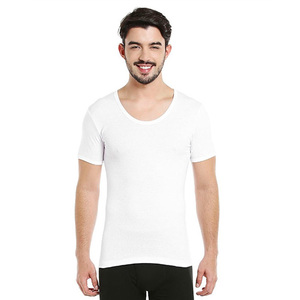 BYC Men's U-Neck T.Shirt 111MU-1100 Extra Large