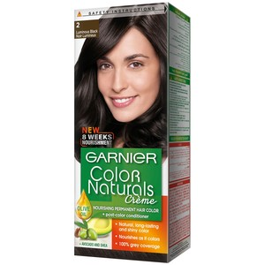 Garnier Color Naturals 2.0 Luminous Black Hair Color 1 Packet