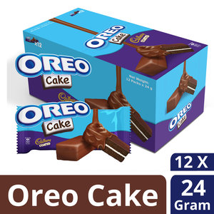 Oreo Cadbury Coated Cake 12 x 24g
