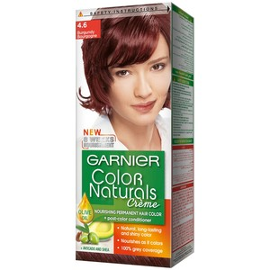 Garnier Color Naturals 4.6 Burgundy Hair Color 1 Packet