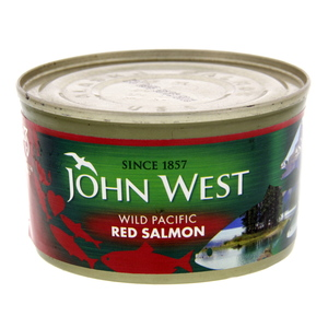 John West Wild Pacific Red Salmon 213g