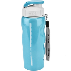 Lock&Lock Stainless Steel Bottle LHC212 550ml Sky Blue