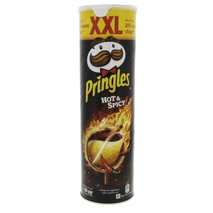 Pringles Hot And Spicy Chips XXL 200g