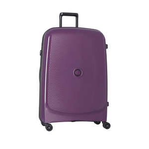 Delsey Belmont Plus 4Wheel Hard Trolley 82cm Purple
