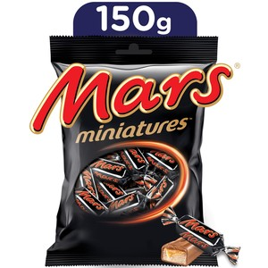 MARS Miniatures Chocolate Mini Bars 150g