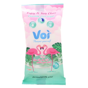 Voi Enjoy & Stay Cleaning Wet Wipes 15pcs