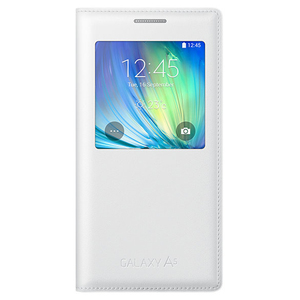 Samsung Galaxy A5 S-View Case White
