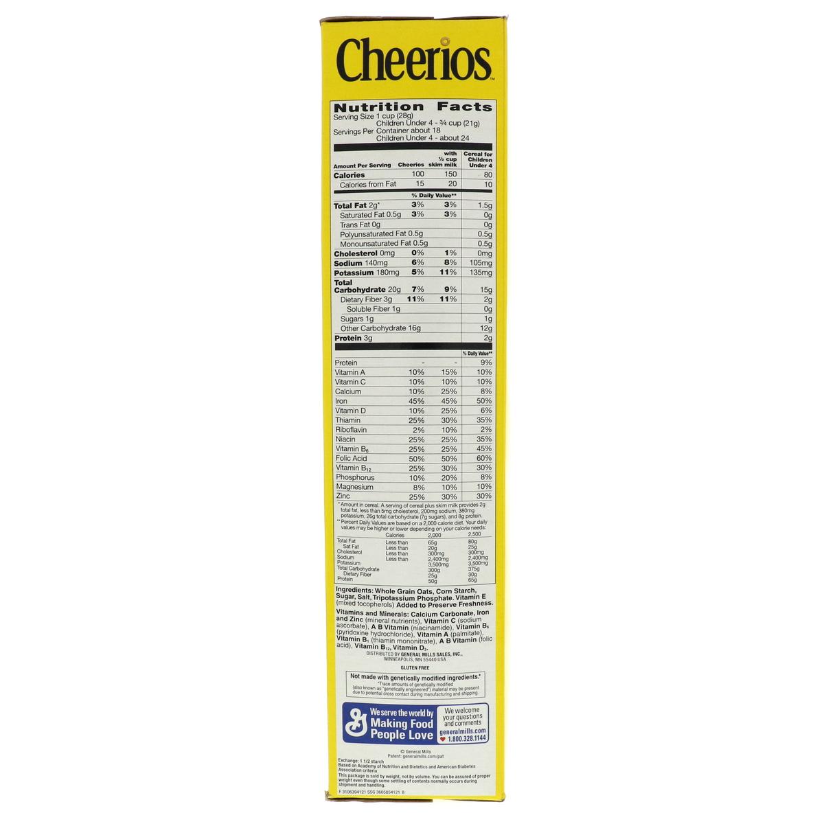 Buy General Mills Cheerios Toasted