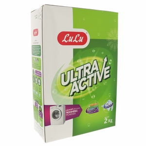 Lulu Ultra Active Washing Powder Front Load 2kg