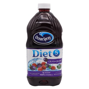 Ocean Spray Diet Cran Grape Juice Drink 1.89Litre