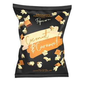 Hectares Coconut and Caramel Popcorn 75g