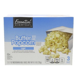 Essential Everyday Butter Popcorn Light 230g