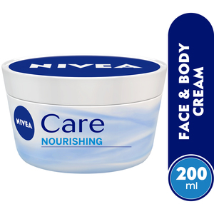 Nivea Care Nourishing Face & Body Cream 200ml