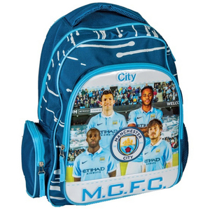 Manchester City School Back Pack 12inch