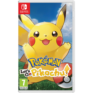Nintendo Switch Pokemon: Let's Go - Pikachu!