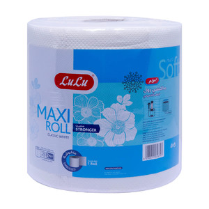 Lulu Classic White Maxi Roll Embossed 2ply 150meters