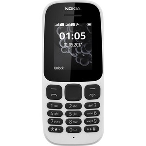 Nokia Mobile Phone 105 Dual SIM White