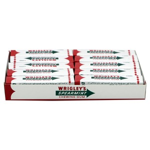 Wrigley's Spearmint Chewing Gum 20 x 13g
