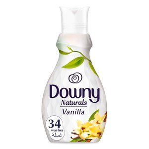 Downy Naturals Concentrate Fabric Softener Vanilla Scent 1.38Litre