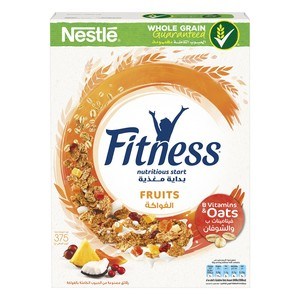 Nestle Fitness Fruits Breakfast Cereal 375g