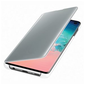 Samsung Galaxy S10 Clear view Book-Cover White ZG973CW
