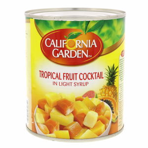 California Garden Tropical Fruit Cocktail In Light Syrup 850g