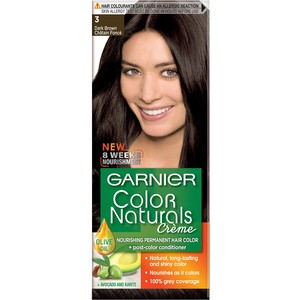 Garnier Color Naturals 3 Dark Brown Hair Color 1 Packet