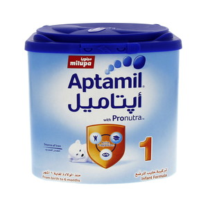Milupa Aptamil With Pronutra 1 From birth to 6 months 400g