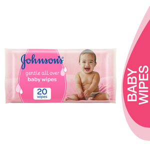Johnson's Baby Wipes Gentle All Over 20pcs