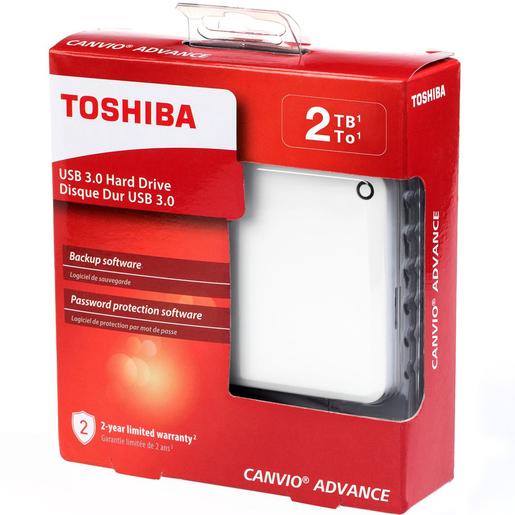 Buy Toshiba Hard Disk Canvio Advance HDTC920 2TB White