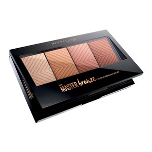 Maybelline Master Bronze Color And Highlighting Kit Palette 1pc